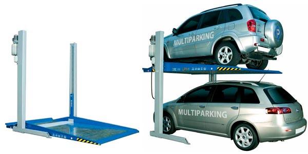 Гидравлический автомобильный лифт-подъемник