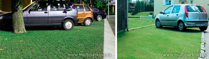 Оборудование экологических парковок